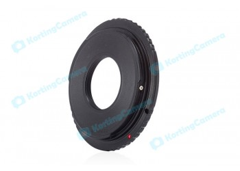 Adapter C-EOS: C mount movie Lens - Canon DSLR Camera