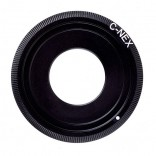 Adapter C-NEX: C mount movie Lens - Sony NEX A7 Camera