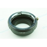 Adapter LR-NX: Leica R Lens - Samsung NX mount Camera