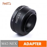 Adapter M42-NEX: M42 Lens - Sony NEX en A7 E mount Camera