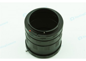 Macro Extension Tubes M42 mount Camera Lens 3*metaal ring