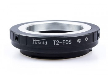 Adapter T2-EOS: T2 T mount Lens - Canon EOS EF mount Camera