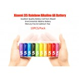 10*Original XiaoMi Rainbow Zi5 1.5V AA Alkaline Battery Set