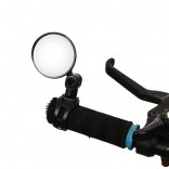 Bicycle Rearview Mirror Wide Angle Convex Mirror Mountain Bike Safety Mirror Handle 5CM