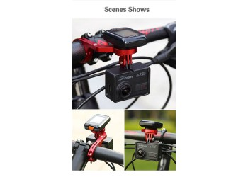 Professioneel 7 in 1 Fiets Computer Mount Houder Stuur Extension Adapter Garmin Zwart
