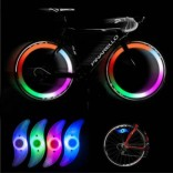 4 in 1 Bicycle Spokes Lamp Cycling Willow LED Wheel