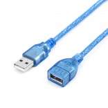 USB 2.0 Verlengkabel USB 1.5M Kabel Man-vrouw Data Kabel