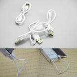 Android phone oplaad kabel USB-USB micro 25mm