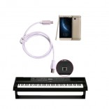 Micro usb-Usb Type B OTG Kabel Printer Telefoon Piano Elektronische drum Midi Keyboard