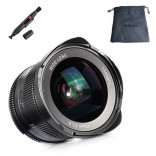 7artisans 12mm F2.8 manual focus lens Sony systeem camera + Gratis lenspen en lens tas