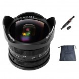 7artisans 7.5mm F2.8 Fish-Eye manual focus lens Olympus Panasonic systeem camera + Gratis lenspen en lens tas