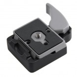 Camera 323 Quick Release Clamp Adapter + 200PL-14 Plaat voor Manfrotto