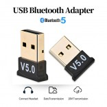 Usb Bluetooth 5.0 Adapter Dongle Zender Ontvanger Voor Computer PC Laptop