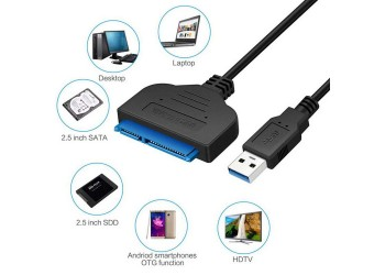 USB 3.0 SATA Externe SSD HDD harde Schijf Behuizing 22 Pin kabel