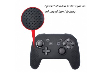 9in 1 Rubber Cover Case voor Nintendo Switch Pro Controller