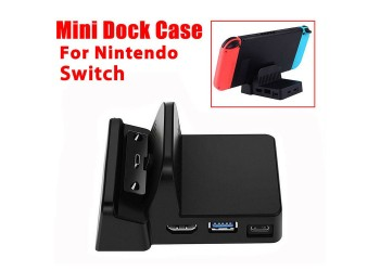 Mini DIY Dock Case voor Nintendo Switch Docking Station