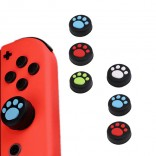 4 cat Joy-Con Thumb Stick Grip Cap voor Nintendo Switch
