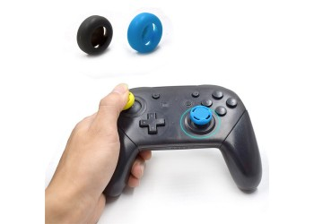 4 Pro en Joy-Con Thumb Stick Grip Cap voor Nintendo Switch