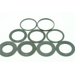 1 piece graduated square filter adapter ring: 49mm-82mm