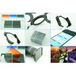 10 in 1 graduated square filter gray gradient filter kit