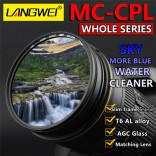 52mm CPL Polarisatie MC Lens Filter Langwei Multi Coating
