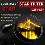67mm Star Filter (Sterfilter 6 star) Langwei camera lens