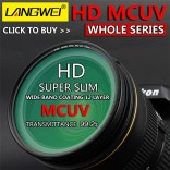 52mm UV Filter Langwei Multi coating MC PRO Slim Camera lens