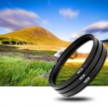 3x 40.5mm ND Filter grijsfilter +2+4+8 camera lens filter