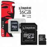 Kingston 16GB Micro SD TF geheugenkaart memory card C10