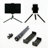 4 in 1 Tripod Phone Tablet Camera Holder 360 degree 3D Stand Monopod Tripod