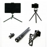 3 in 1 Tripod Phone Tablet Camera Holder 360 degree 3D Stand Monopod Tripod