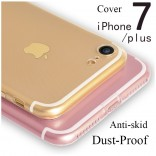 iphone 7 plus anti-dust hoesje transparant TPU Case Cover