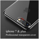 iphone 7 plus lucent hoesje transparant TPU Case Cover