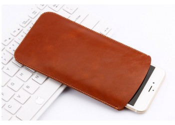 iphone 7 plus Samsung Huawei Luxe leather Hoesje case Rood