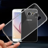 samsung s7 edge lucent hoesje transparant TPU Case Cover