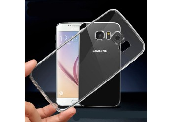 samsung s6 edge lucent hoesje transparant TPU Case Cover