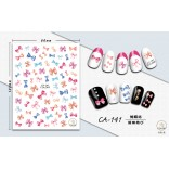 3D Nail Sticker Cool stickers nail foil Fashion Manicure Stickers Nails CA-141 Bowknot