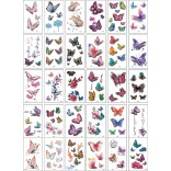 30 pieces Tattoo Sticker Face Hand Beautiful Body Art Fake Tatoo Temporary Waterproof Taty Model Y