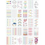 30 pieces Tattoo Sticker Face Hand Beautiful Body Art Fake Tatoo Temporary Waterproof Taty Model XY_B