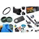 10 in 1 accessories kit voor Canon 77D + 18-55MM IS STM