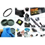 10 in 1 accessories kit: Canon 200D + EF-S 18-55mm DC