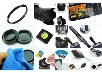 10 in 1 accessories kit: Canon M50 + 15-45mm IS STM