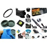 10 in 1 accessories kit voor Nikon D5600 + AF-S 18-105mm ED VR