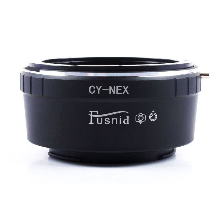 Adapter CY-NEX: Contax Yashica CY Lens - Sony NEX A7 Camera