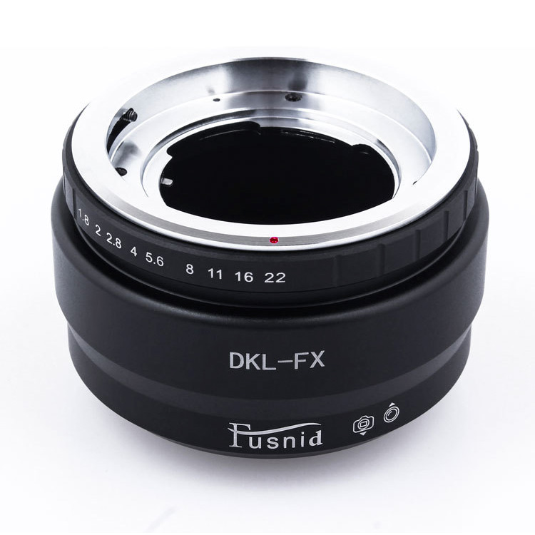 Adapter DKL-FX: DKL mount Lens-Fujifilm FX mount Camera