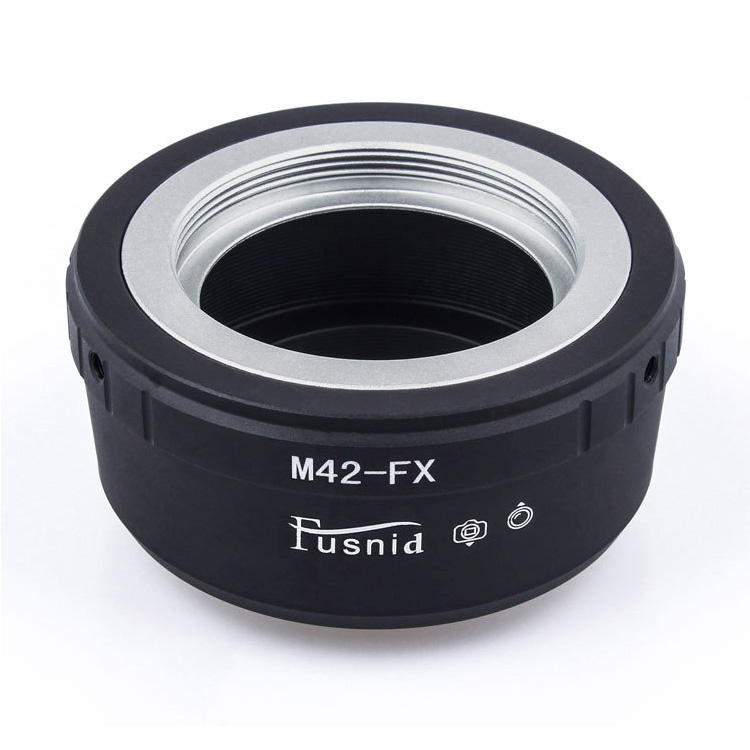 Adapter M42-Fuji FX: M42 Lens - Fujifilm X mount Camera