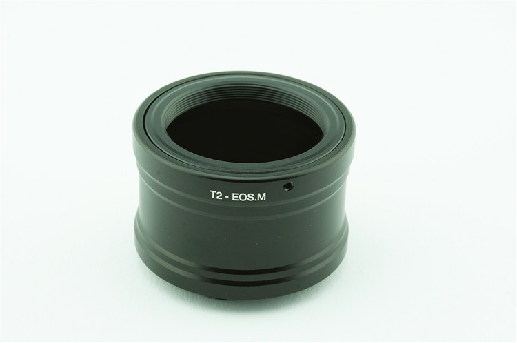 Adapter T T2-EOS.M: Universal T T2 Lens - Canon EOS M Camera