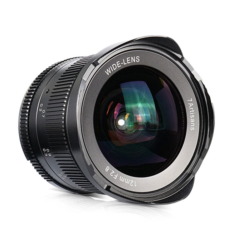 7artisans 12mm F2.8 manual focus lens Canon system camera