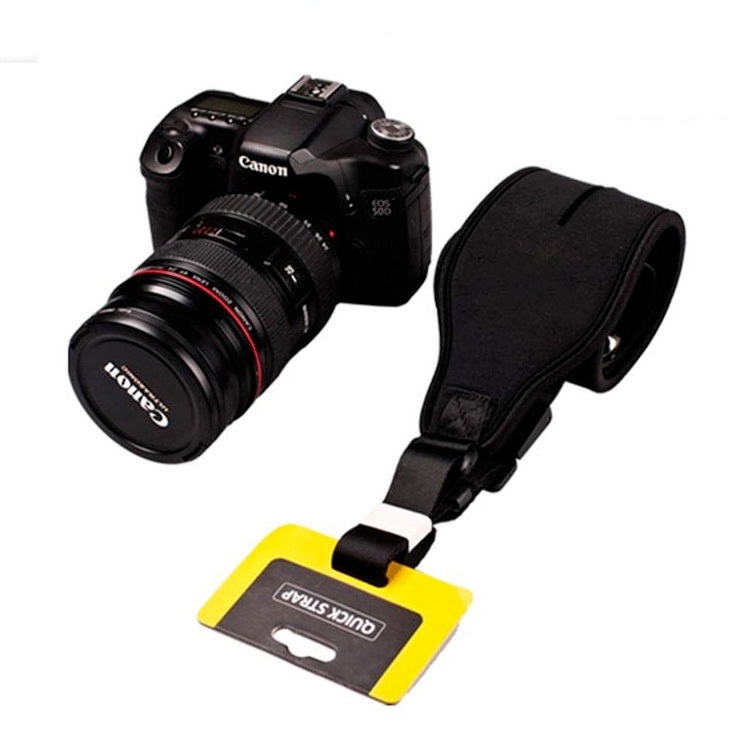 Camera Quick Rapid Single Shoulder Sling Belt Neck Strap