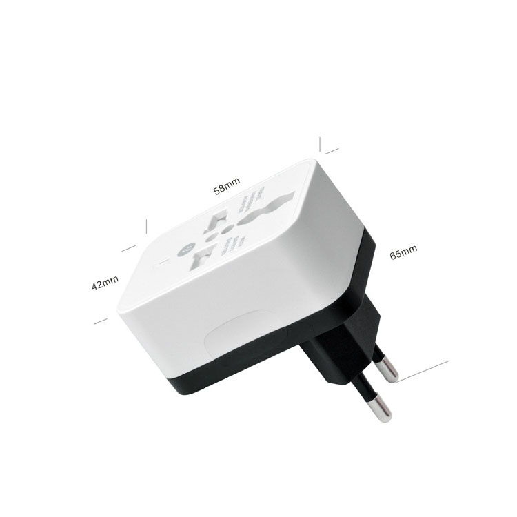 Universele Travel Adapter 220v 10A USB GE AU US EU UK Converter